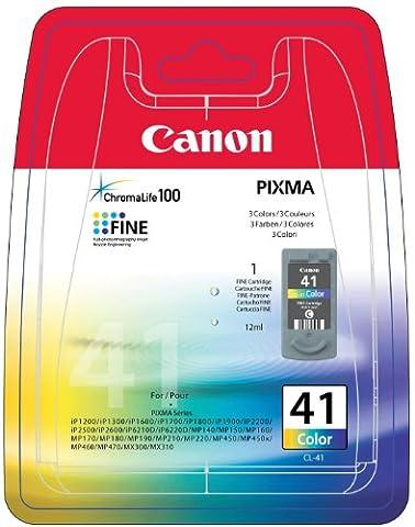 Canon CL-41 Cartouche d'encre d'origine Cyan, magenta,