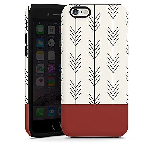 Apple iPhone SE Housse Outdoor Étui militaire Coque Ethnique Flèches Motif Cas Tough terne