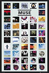 Muse - Covers - Maxi Poster - 61 cm x 91.5 cm