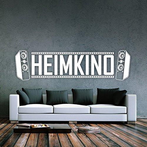 ... Denoda® Heimkino   Wandtattoo Weiss 96 X 25 Cm (Wandsticker  Wanddekoration Wohndeko Wohnzimmer Kinderzimmer ...