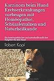 Karzinom beim Hund Krebserkrankungen vorbeugen mit Homöopathie, Schüsslersalzen und Naturheilkunde: Ein homöopathischer und naturheilkundlicher Ratgeber für den Hund