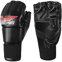 ZooBoo Gants MMA, Gants de boxe d'entrainement Kickboxing pour Hommes Femmes Enfants Sac de boxe UFC entraînement au combat (Une taille s'adapte la plupart des gens)