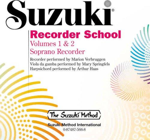Suzuki Recorder School: Volume 1 & 2 Soprano Recorder (Suzuki Method)