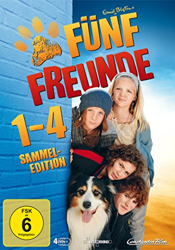 Freunde Galerie (Fünf Freunde 1 - 4 [Limited Edition] [4 DVDs])