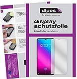 dipos I 2X Schutzfolie klar passend für Vivo V11 Plus Folie Bildschirmschutzfolie