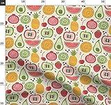 Früchte, Zitrone, Limette, Wassermelone, Erdbeere, Ananas,