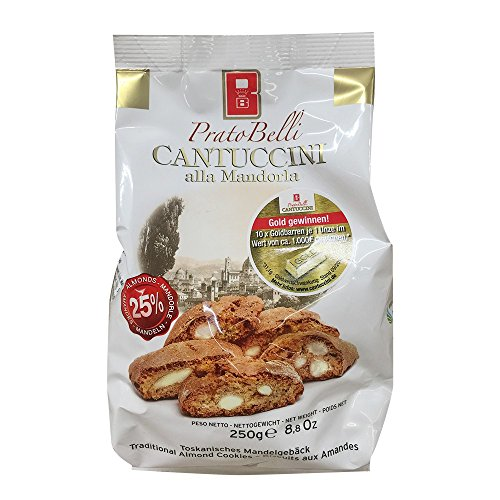 Prato Belli 'Cantuccini' Gebäck mit Mandeln, 250g
