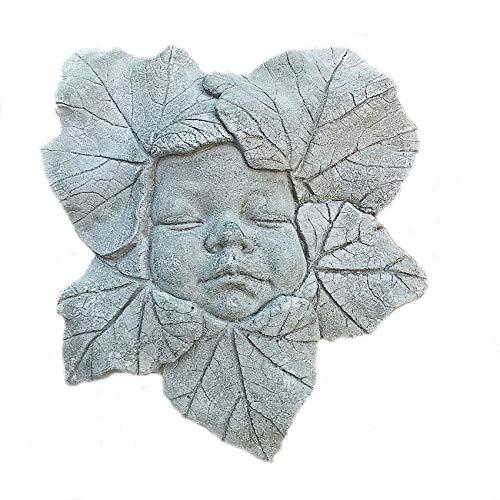 Blumenkind Elfe Blütenkind Steinfigur Steinguss Frostfrei Garten Figur