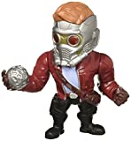 Jada Marvel Guardians of the Galaxy Star-Lord - Metalfigs 10cm Sammelfigur 97965 detailgetreue Gestaltung, aus hochwertigem Diecast-Metall, verpackt in edler Fensterbox