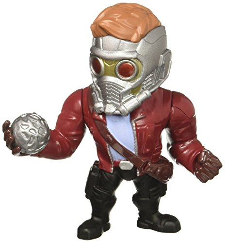 Marvel Guardians of the Galaxy Star-Lord - Metalfigs 10cm Sammelfigur 97965 detailgetreue Gestaltung, aus hochwertigem Diecast-Metall, verpackt in edler Fensterbox