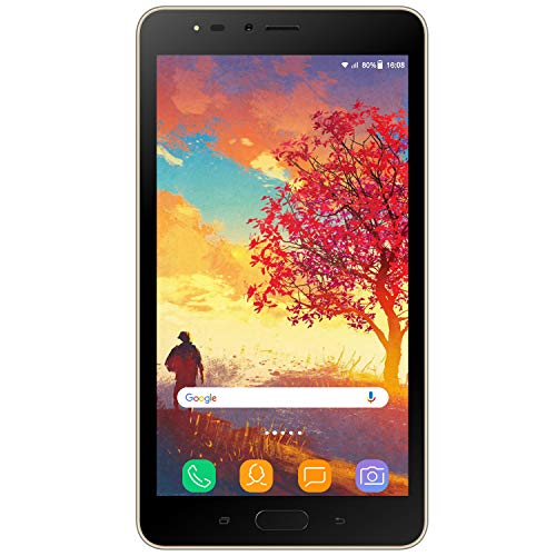 tablet 7 pollici 2gb ram 6.5 Pollici HD WIFI Tablets V mobile Android 7 Quad Core Tablet 16GB ROM 2GB RAM Dual Fotocamera 8 MP+5MP Face ID 3G+ Tablet Offerte Batteria 3600mAh Dual SIM Standby GPS (Oro)