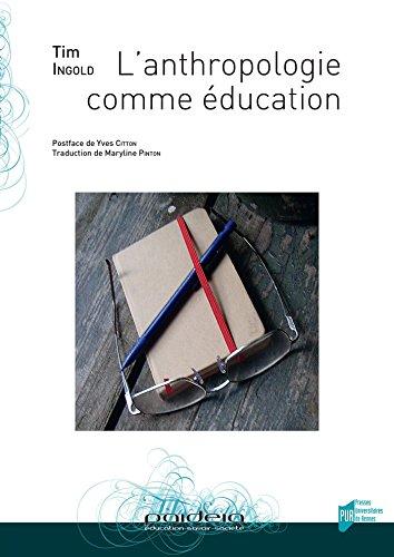 L'anthropologie comme éducation (Paideia)