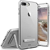Cover iPhone 7 Plus, VRS Design [Crystal Mixx][Trasparente] - [Chiarissimo][Kickstand][Leggero