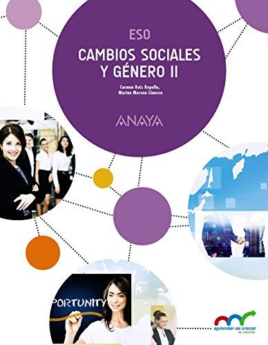 Cambios Sociales y Género II. (Aprender es crecer en conexión) - 9788469825884