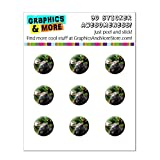 Moose mâle Bull Bois de home Button Stickers pour Apple iPhone (3G, 3 GS, 4, 4S, 5,...