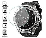BlueBeach LG Watch Urbane 2nd Edition W200 HD Protection d'écran Protecteur en Verre Trempé (Ne convient pas pour la 1ère édition)