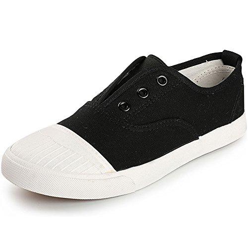 Alexis Leroy Freizeit Turnschuhe Low Top Schuhe Damen Sneakers Schwarz