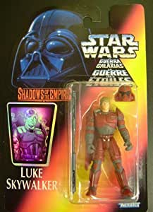 KENNER STAR WARS 1996 POTF2 LUKE SKYWALKER SHADOWS OF THE EMPIRE SOTE (TRI-LOGO RED CARD)