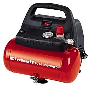 Einhell 4020495 TH-AC 190/6 Compressore, 1100 W, 8 bar