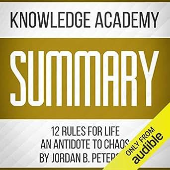 Separar Consejo Maldición  Summary of 12 Rules for Life: An Antidote to Chaos by Jordan B ...