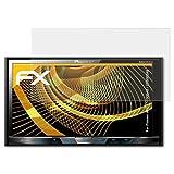 atFoliX Schutzfolie für Pioneer AVH-X5700DAB/X5800DAB Displayschutzfolie - 2 x FX-Antireflex blendfreie Folie