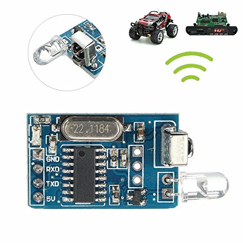 Ils - DIY 5V Drahtlose IR Infrarot-Fernbedienung Decoder Encoding Sender-Empfänger-Modu Ir-sender