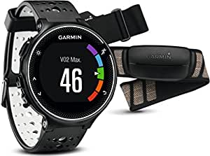 Garmin Forerunner 230 GPS Running Smartwatch - Smart Features and Heart Rate Monitor, Black and White