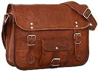 Gusti Leder - Bolso de mano estilo vintage (cuero), color marrón