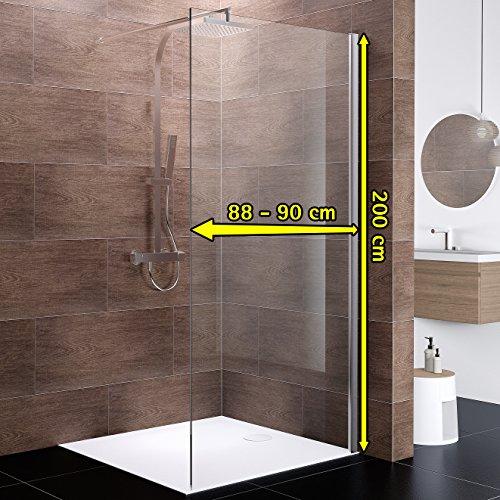 """Duschabtrennung """"Boston"""" für eine Walk-In Dusche - 3"""