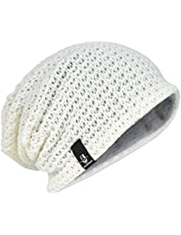afae81371ce Men Oversize Beanie Slouch Skull Knit Large Baggy Cap Ski Hat B08