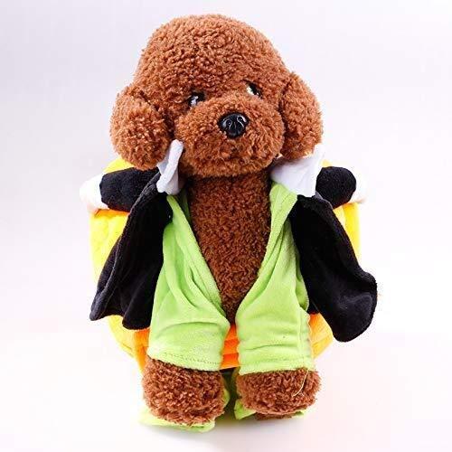 Jadeyuan Kostüm Heimtierbedarf, Neue Welpenkleidung, beweglicher Kürbis, lustiger Hund, Kleid Bekleidung (Color : L) (Lustige Neue Kostüm)