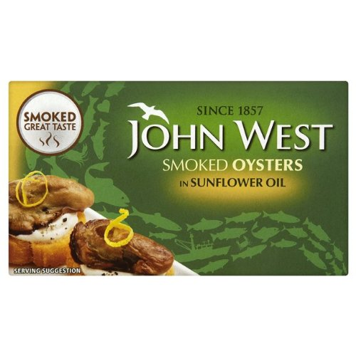 John West geräucherte Austern 3x85g