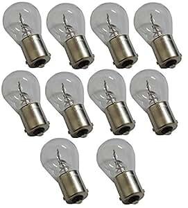 Philips 10 ampoules 13498CP P21W 24V pour camion poids lourds