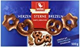 Weiss Lebkuchen Herzen/ Sterne/ Brezeln Vollmilch, 7er Pack (7 x 500 g)