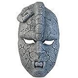 QJXSAN Máscara de Halloween Ornamento máscara de la gárgola máscara de Fantasma de Piedra cos Piedra Resina de Fideos