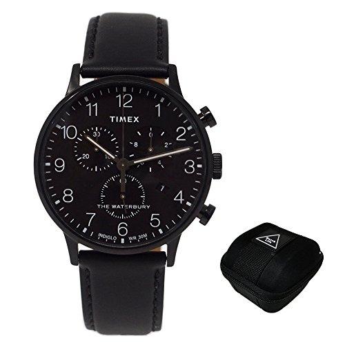 Timex Orologio TW2R71800 NERO ACCIAIO 316 L Uomo