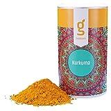 Bio Kurkuma Pulver 200g von foodglueck | Ideal für Kurkuma Tee, Goldene Milch, Kurkuma Latte oder Kurkuma Wasser