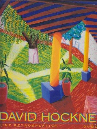 David Hockney - Eine Retrospektive - Ausstellungs-Katalog Los Angeles - New York - London (deutsche Ausgabe) Buch-Cover