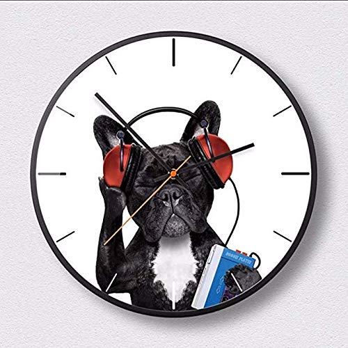 wczzh Gestalten Sie Die Originelle Wanduhr Der Eigenartigen Tier-Uhrenkunst Von Boreal, 12 Zoll