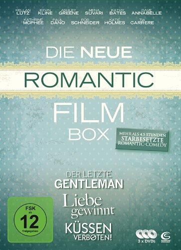 Die neue Romantic Film Box - 3 Romantic Comedy Filme in einer Box: Liebe gewinnt, Küssen verboten, Der letzte Gentleman [Edizione: Germania]