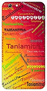Taniamitra (friend of fairy queen) Name & Sign Printed All over customize & Personalized!! Protective back cover for your Smart Phone : Moto G-4-PLAY