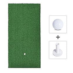 Golf Fairway Mats,golf Training Mat,golf Mat, Golf Practice Mat, 30*60cm Golf Fairway Mats With Golf Ball & Rubber Tee