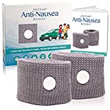 Medi Grade Anti-Nausea Bands - 100% Natural Travel, Motion and Morning Sickness Relief
