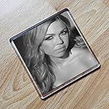 ADELE SILVA - Original Art Coaster #js001 by Coasters - Actresses