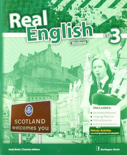 Real English. Workbook. 3º ESO por Vv.Aa.