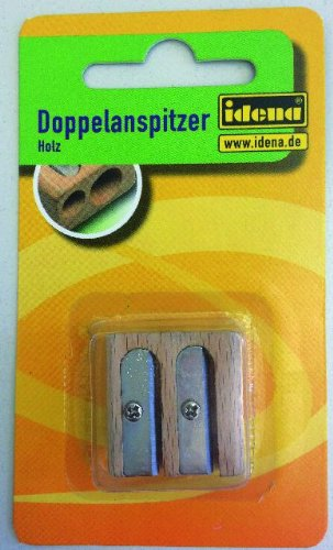 Idena Doppelanspitzer aus Holz