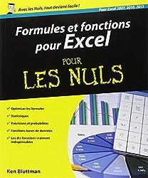 Formules et fonctions pour Excel 2013 Pour les Nuls