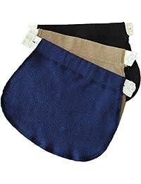 Yi Zhou Cinturón para el Vientre Combo Maternity Belly Band Pantalones elásticos Ajustables Mujeres Embarazadas Solución