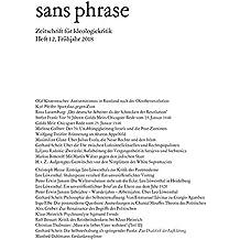 sans phrase: Zeitschrift für Ideologiekritik; Heft 12, Juni 2018