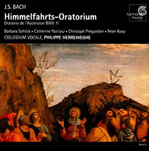 J S Bach Ascension Oratiorio Bwv 11 Cantatas Bwv 43 44